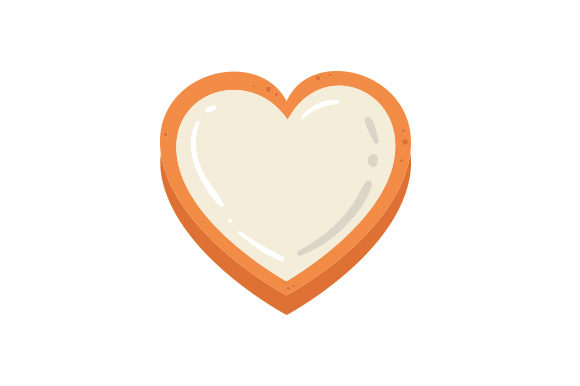 Download Free Gingerbread Heart Svg Cut File By Creative Fabrica Crafts for Cricut Explore, Silhouette and other cutting machines.