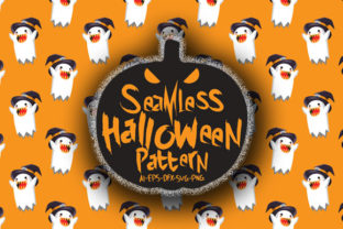 Download Free Halloween Seamless Patterns 88 Graphic By Bayu Baluwarta for Cricut Explore, Silhouette and other cutting machines.