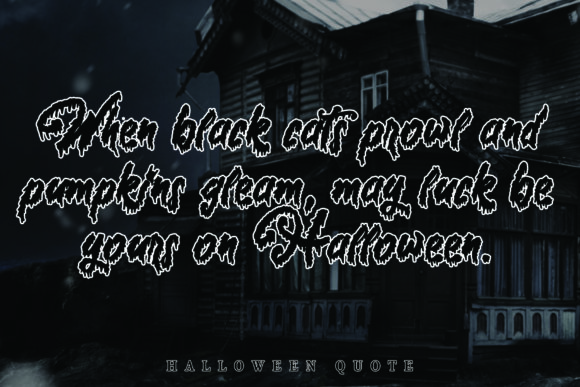 Halloween Story Font Download