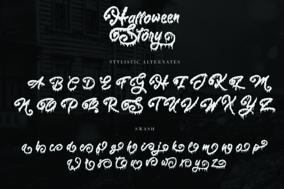Halloween Story Font Preview