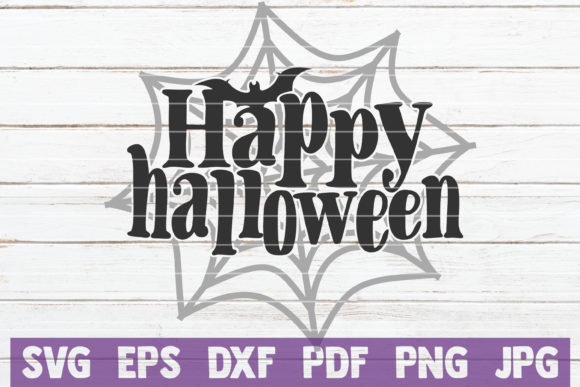 Happy Halloween Cut File Graphic By Mintymarshmallows Creative