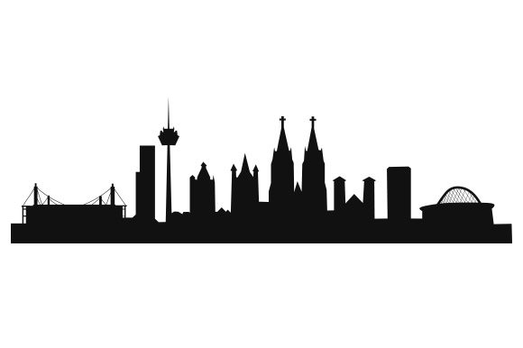 Cologne Skyline Germany Craft Cut File By Creative Fabrica Crafts