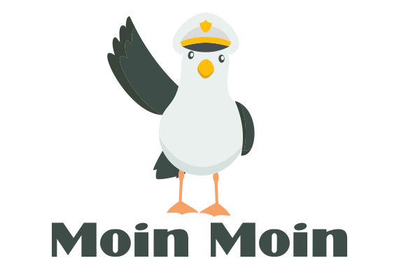 Download Free Moin Moin Seagull Svg Cut File By Creative Fabrica Crafts for Cricut Explore, Silhouette and other cutting machines.