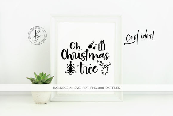 Oh Christmas Tree Graphic By Beckmccormick Creative Fabrica