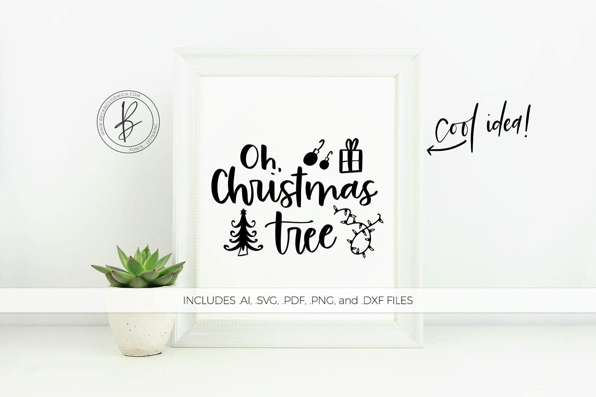 Download Free Oh Christmas Tree Graphic By Beckmccormick Creative Fabrica SVG Cut Files