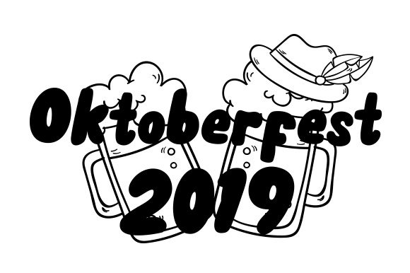 Download Free Oktoberfest 2019 Svg Cut File By Creative Fabrica Crafts for Cricut Explore, Silhouette and other cutting machines.