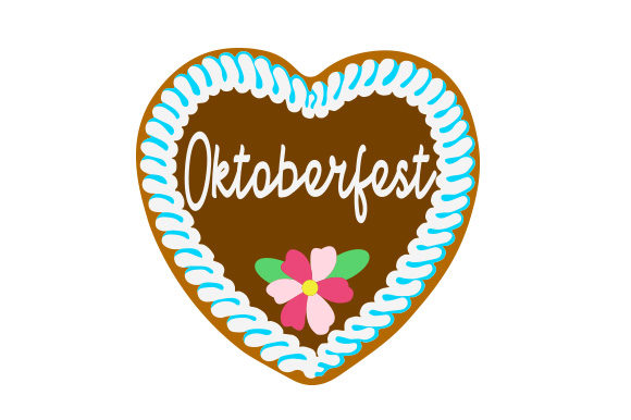 Download Free Oktoberfest Gingerbread Heart Svg Cut File By Creative Fabrica Crafts Creative Fabrica for Cricut Explore, Silhouette and other cutting machines.