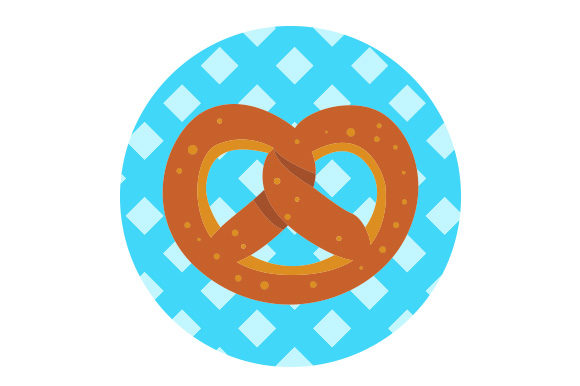 Download Free Pretzel Svg Cut File By Creative Fabrica Crafts Creative Fabrica for Cricut Explore, Silhouette and other cutting machines.