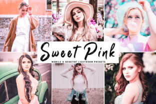 Sweet Pink Pro Lightroom Presets Graphic By Creative Tacos