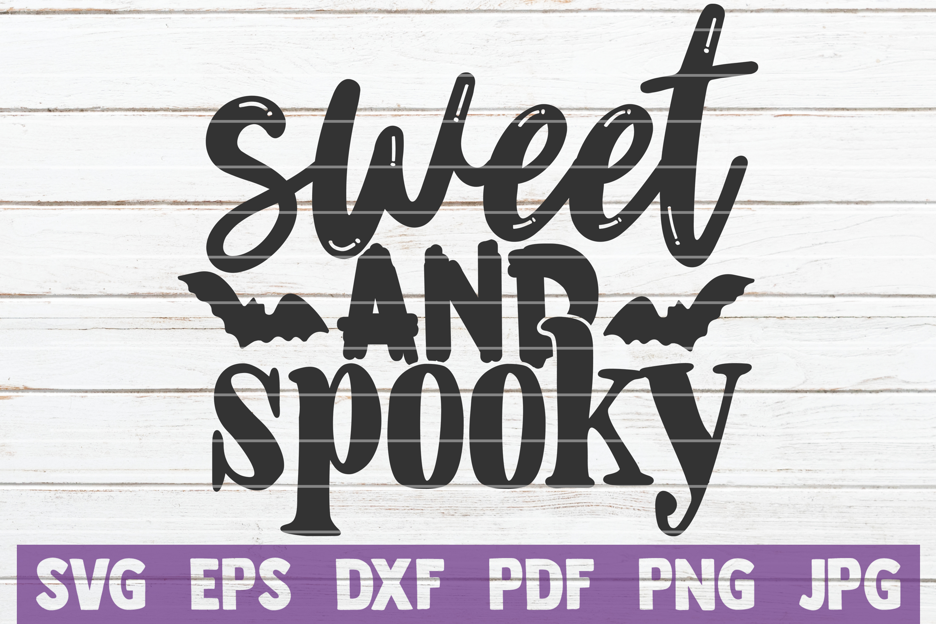 Download Free Sweet And Spooky Cut File Graphic By Mintymarshmallows for Cricut Explore, Silhouette and other cutting machines.