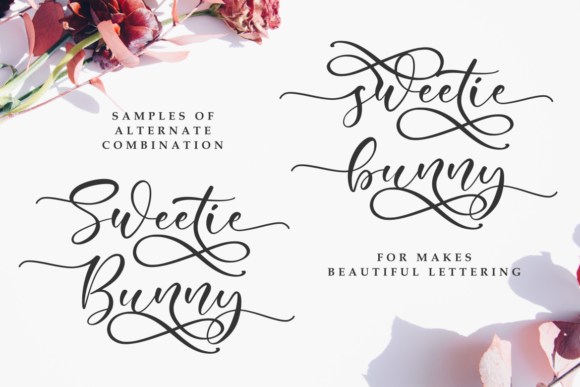 Sweetie Bunny Font By R. Studio Image 2