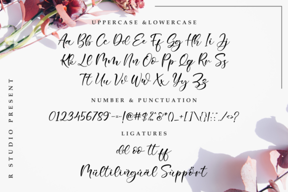 Sweetie Bunny Font By R. Studio Image 5