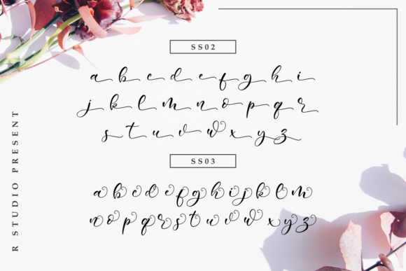 Sweetie Bunny Font By R. Studio Image 7