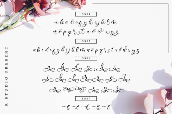 Sweetie Bunny Font By R. Studio Image 8