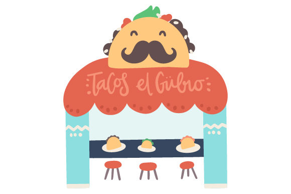 Download Free Taqueria Svg Cut File By Creative Fabrica Crafts Creative Fabrica for Cricut Explore, Silhouette and other cutting machines.