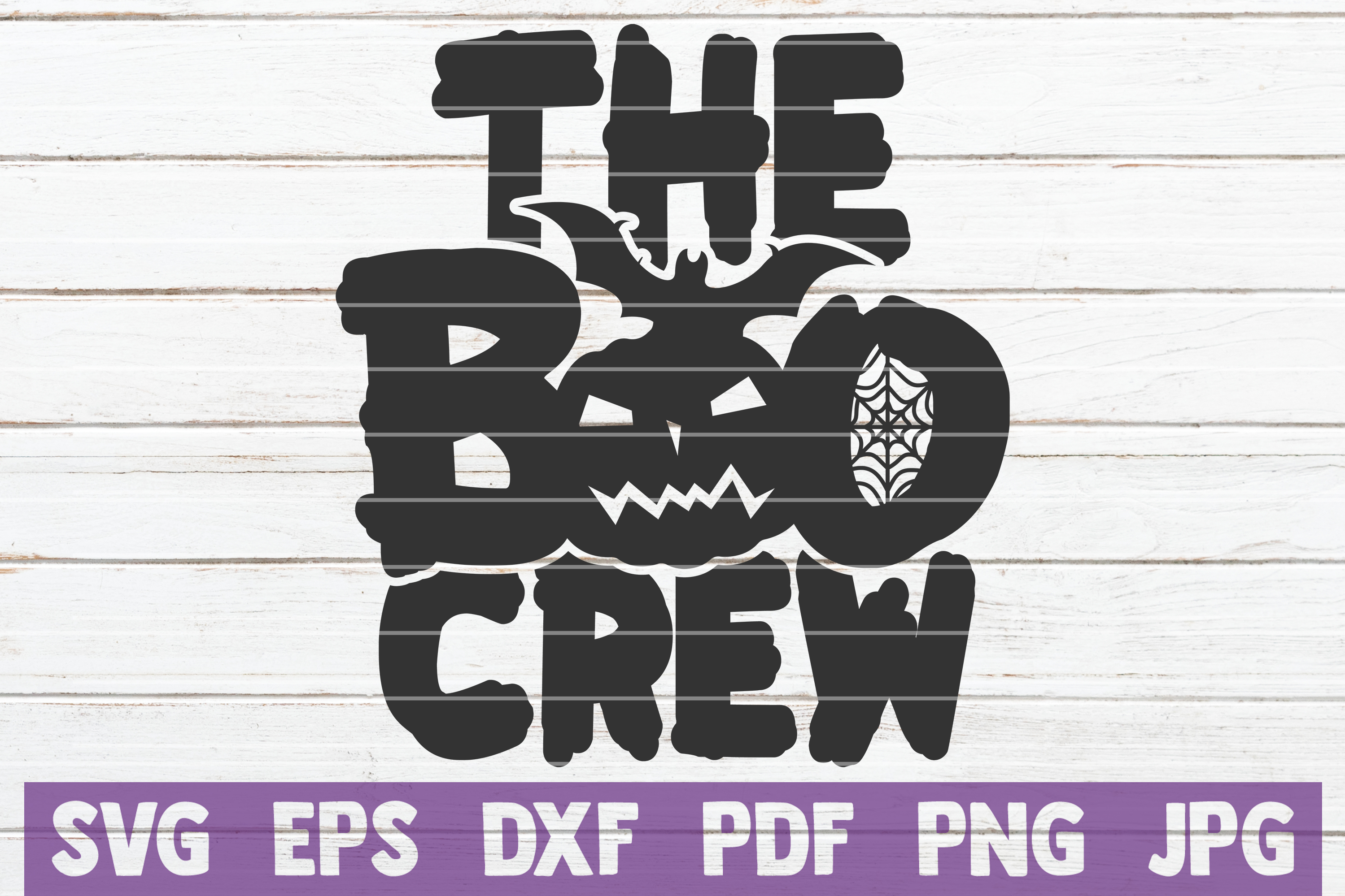 Download Free The Boo Crew Cut File Graphic By Mintymarshmallows Creative for Cricut Explore, Silhouette and other cutting machines.