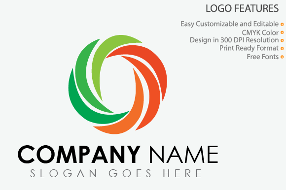 Download Free Vector Cyclone Logo Template Graphic By Graphicsninja Creative for Cricut Explore, Silhouette and other cutting machines.