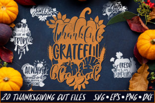 20 Thanksgiving Sayings Part 3 Graphic By Craft-N-Cuts