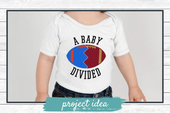 Download Free A Baby Divided Football Svg Cut File Graphic By for Cricut Explore, Silhouette and other cutting machines.