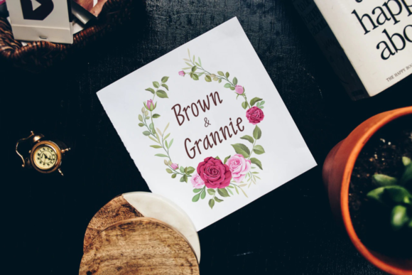 Print on Demand: Aging Like Wine Script & Handwritten Font By Situjuh - Image 2