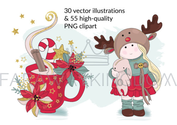 BEST WISHES Vector Pattern Animation Set Graphic Illustrations By FARAWAYKINGDOM - Image 2
