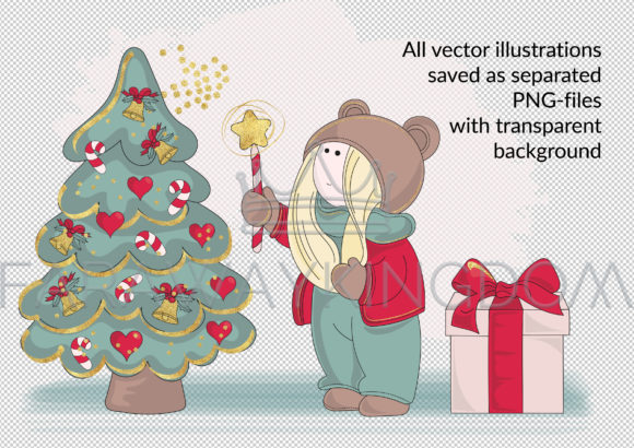 BEST WISHES Vector Pattern Animation Set Graphic Illustrations By FARAWAYKINGDOM - Image 3
