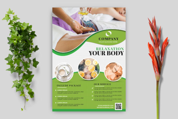 Download Free Beauty Flyer Design Template Graphic By Goku4501 Creative Fabrica for Cricut Explore, Silhouette and other cutting machines.