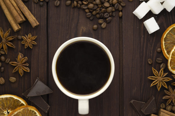 Coffee and Spices Graphic Food & Drinks By Sasha_Brazhnik