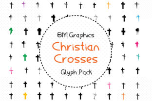 Christian Crosses Font By GraphicsBam Fonts