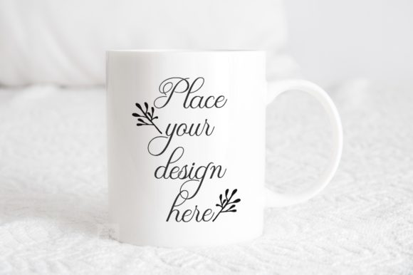 Print on Demand: Coffee Mug Mockup Psd Sublimation Cup Grafik Produktmodelle von Leo Flo Mockups