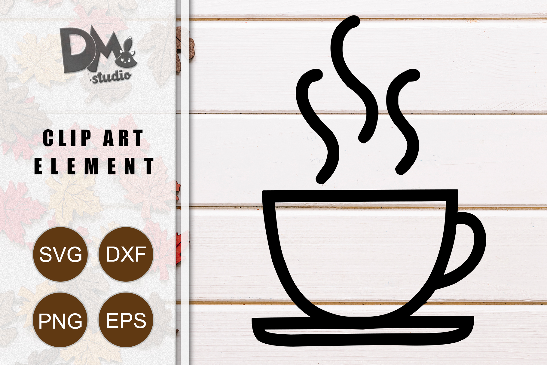 Download Free Coffee Graphic By Sharon Dmstudio Creative Fabrica for Cricut Explore, Silhouette and other cutting machines.