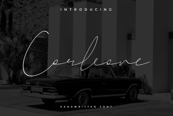 Print on Demand: Corleone Script & Handwritten Font By tkztype