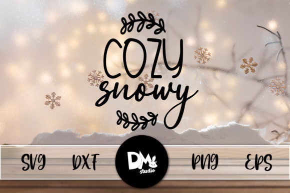 Print on Demand: Cozy Snowy Graphic Crafts By Sharon ( DMStd )