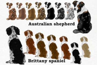Print on Demand: Dog Clipart, Dog Breeds, Pet Clipart Graphic Illustrations By LeCoqDesign 2