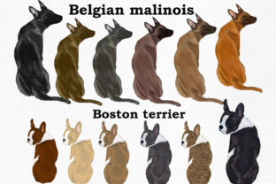 Print on Demand: Dog Clipart, Dog Breeds, Pet Clipart Graphic Illustrations By LeCoqDesign 3
