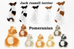 Print on Demand: Dog Clipart, Dog Breeds, Pet Clipart Graphic Illustrations By LeCoqDesign 5