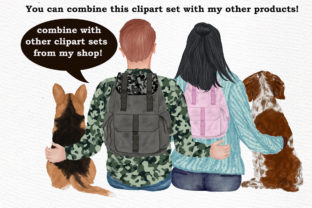 Print on Demand: Dog Clipart, Dog Breeds, Pet Clipart Graphic Illustrations By LeCoqDesign 9