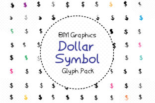 Dollar Symbols Font By GraphicsBam Fonts