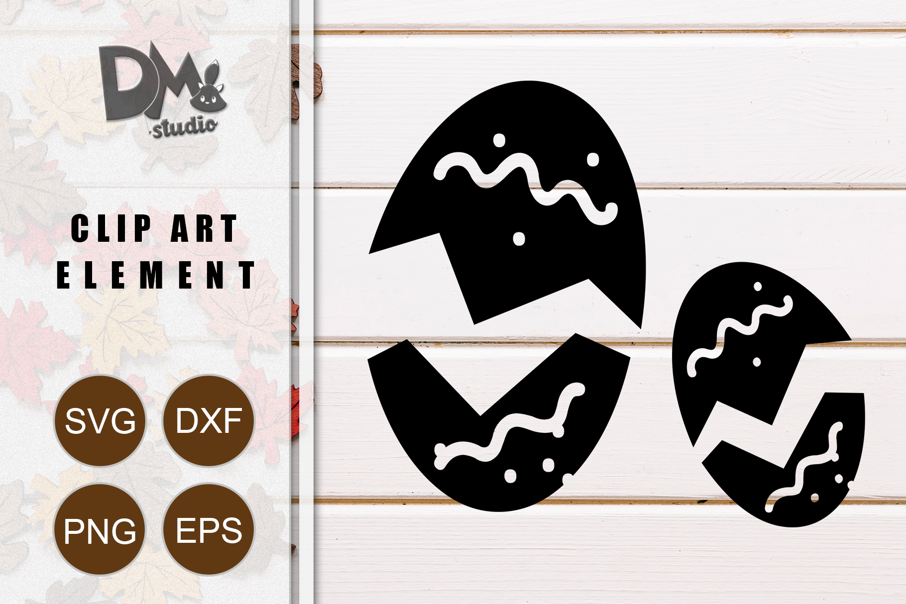 Download Free Easter Eggs Graphic By Sharon Dmstudio Creative Fabrica for Cricut Explore, Silhouette and other cutting machines.