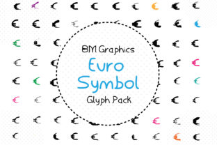 Euro Symbol Font By GraphicsBam Fonts