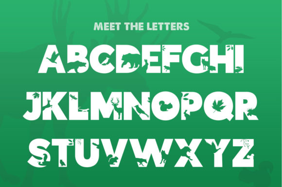 Print on Demand: Forest Display Font By Salt & Pepper Designs - Image 2