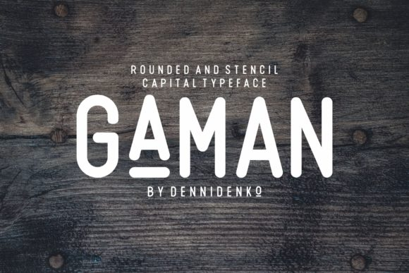 Print on Demand: Gaman Sans Serif Font By dennidenko