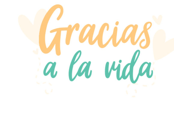 Download Free Gracias A La Vida Svg Cut File By Creative Fabrica Crafts for Cricut Explore, Silhouette and other cutting machines.