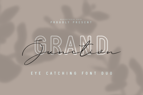 Print on Demand: Grand Junction Duo Script & Handwritten Font By Bluestudio
