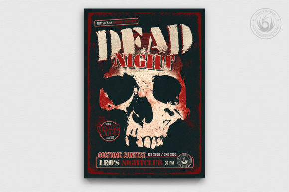 Halloween Flyer Template V24 Graphic By ThatsDesignStore