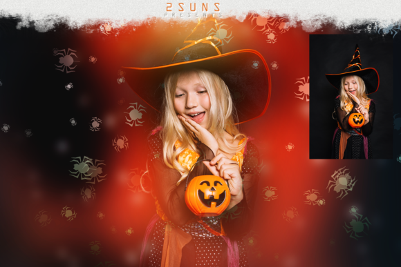 Download Free Halloween Overlay Pack Graphic By 2suns Creative Fabrica for Cricut Explore, Silhouette and other cutting machines.