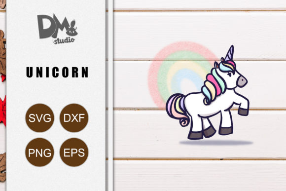 Print on Demand: Hippie Unicorn Graphic Crafts By Sharon ( DMStd )