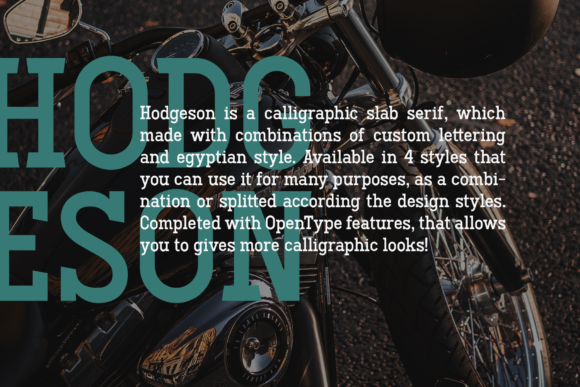 Hodgeson Font By Arterfak Project Image 6