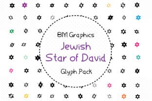 Jewish Star of David Font By GraphicsBam Fonts