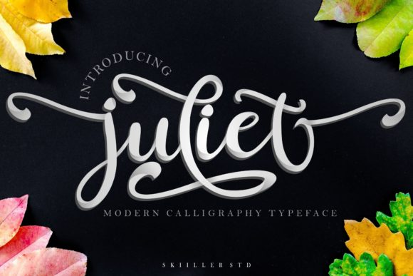 Print on Demand: Juliet Script & Handwritten Font By Skiiller Studio